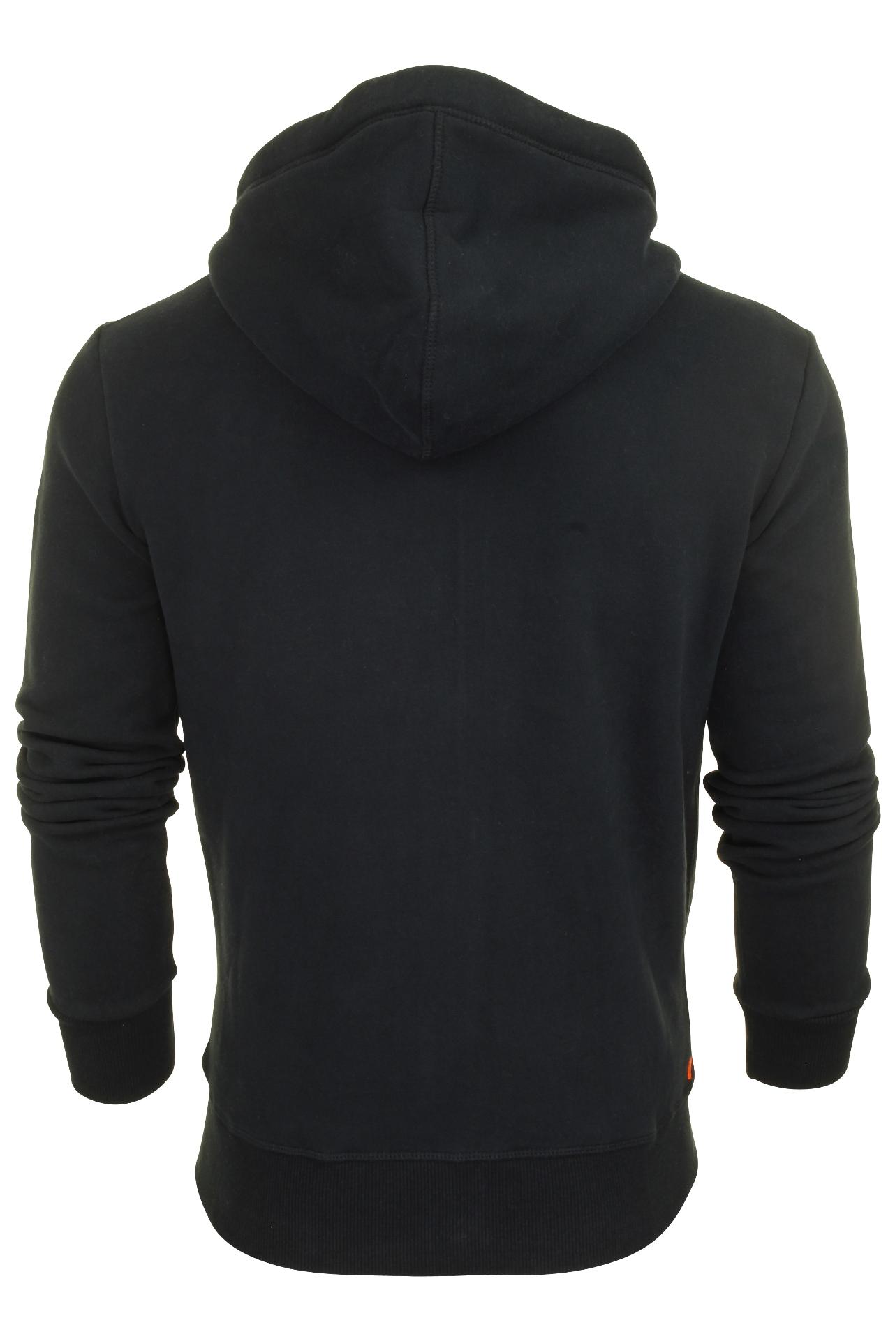 Superdry Mens /'Orange Label/' Zip Front Hoodie