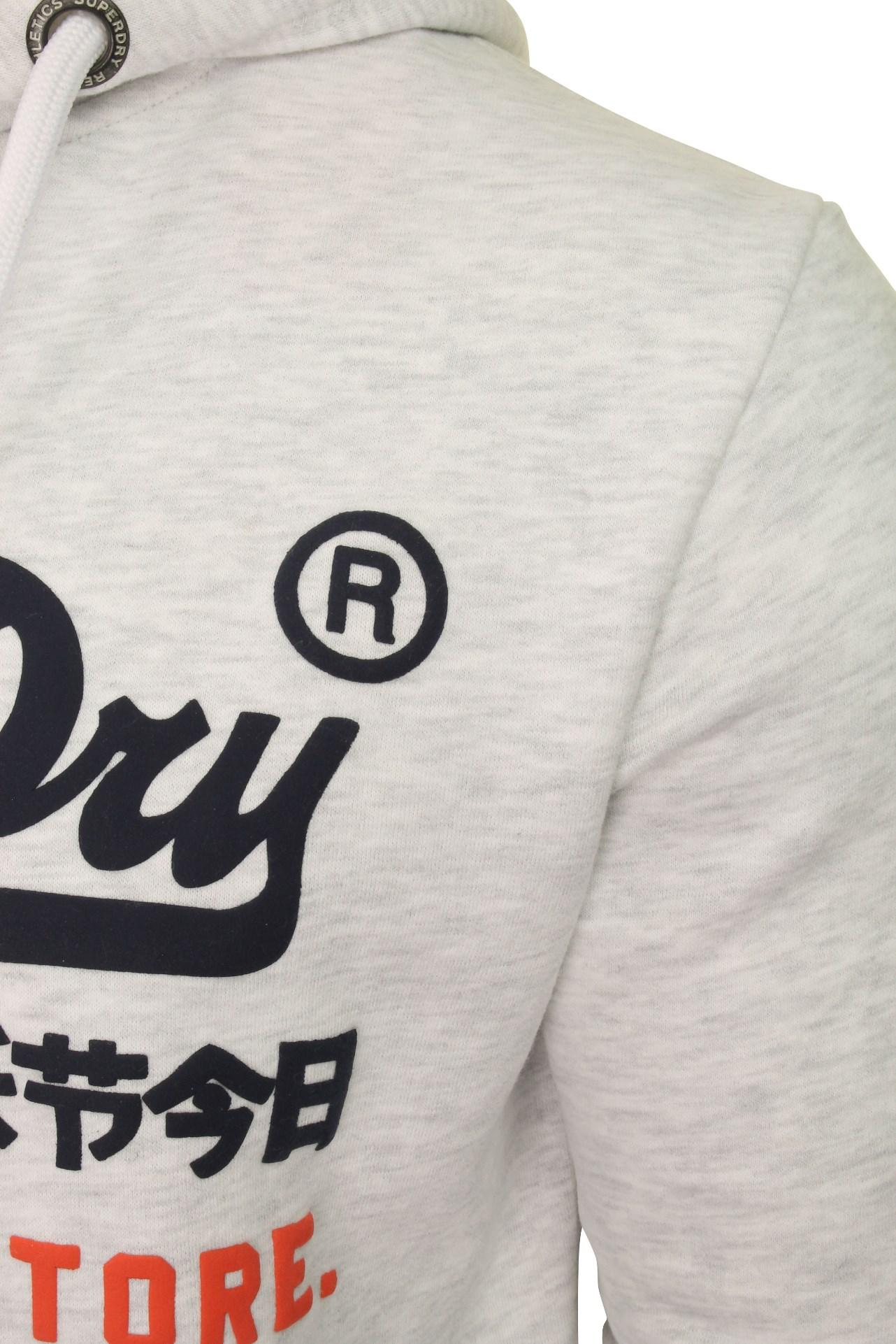 Superdry Mens /'Sweat Shirt Shop/' Hoodie