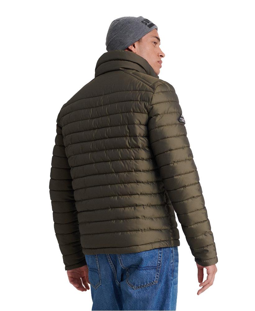 Superdry Mens Padded Jacket Coat /'Double Zip Fuji/'