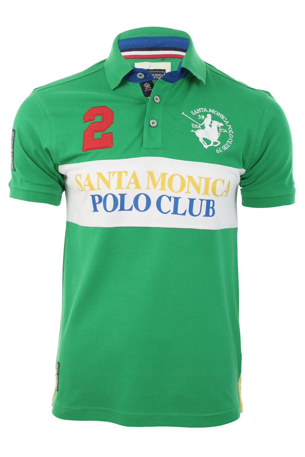 mens pique polo santa monica polo club t shirt 39 roberto