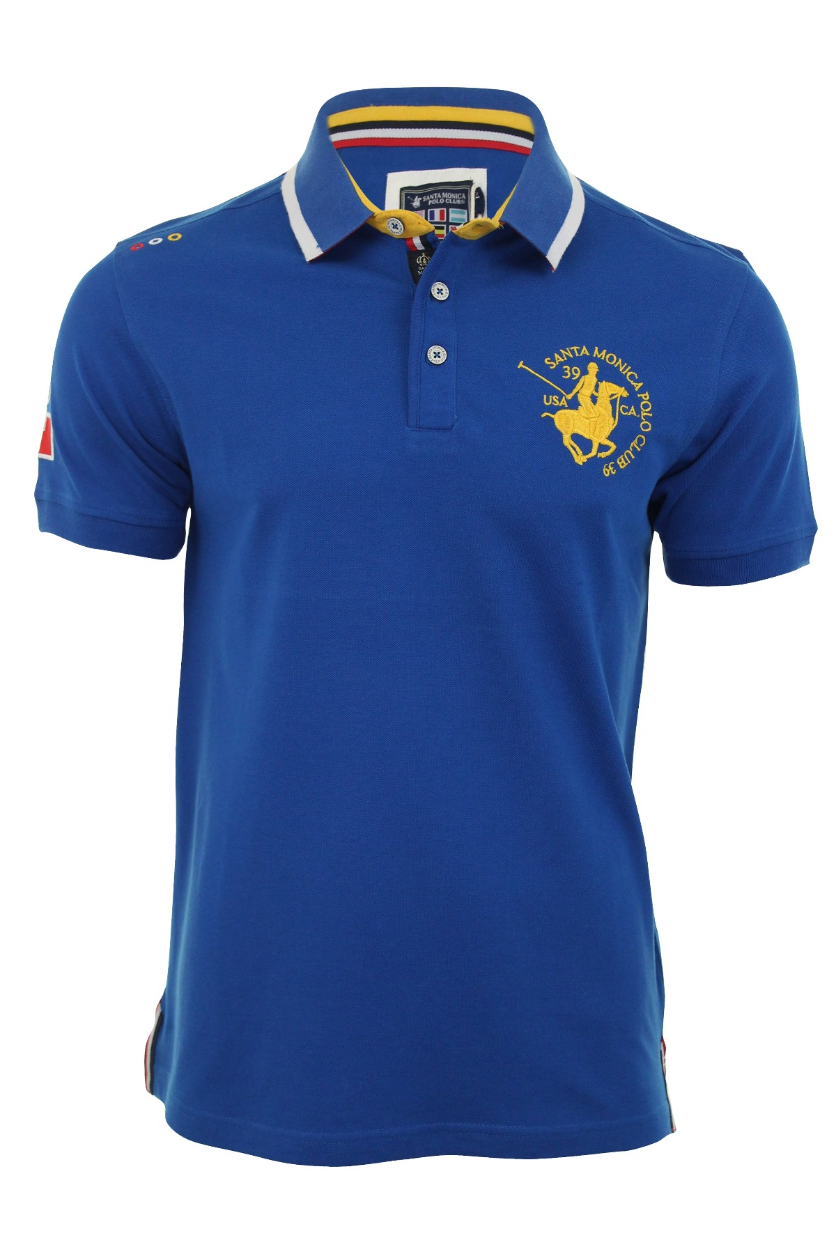 mens pique polo shirts santa monica polo club t shirts