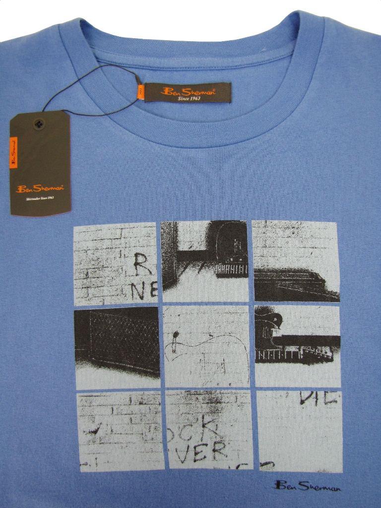 Ben-Sherman-Crew-Neck-T-Shirt-King-Plus-Size-Graphic-Scooter-Print-Starch