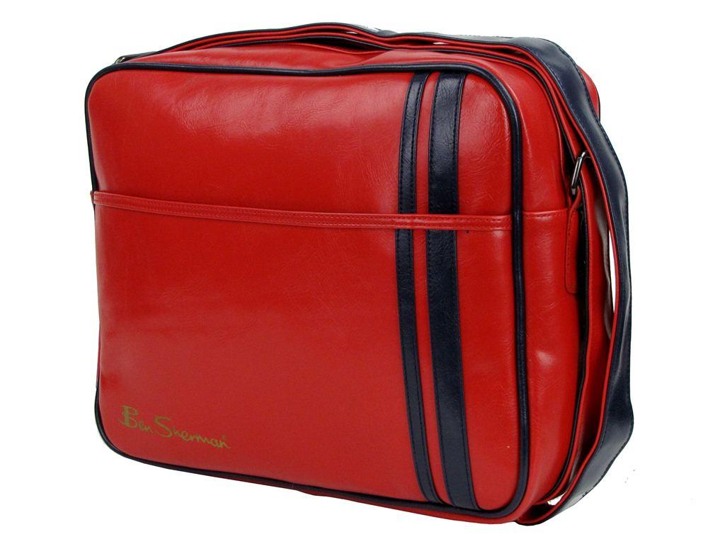 Mens Ben Sherman Retro Shoulder/ Messenger Bag in 4 Colours | eBay