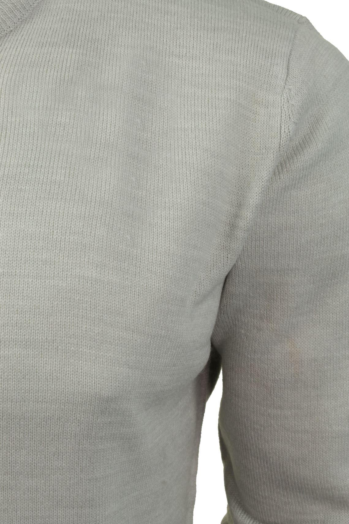 Mens-V-Neck-Jumper-by-Brave-Soul-Long-Sleeved