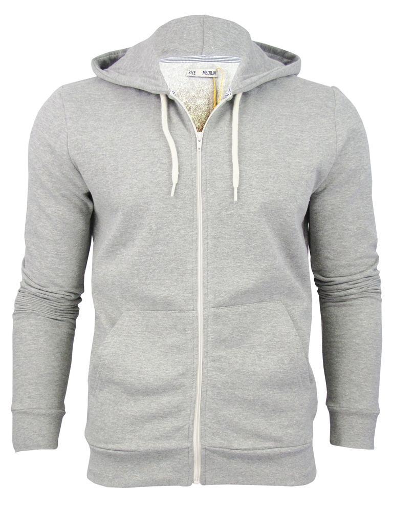 Mens Brave Soul 'Adrian' Hoodie/ Hooded Zip Jumper/ Sweatshirt | eBay