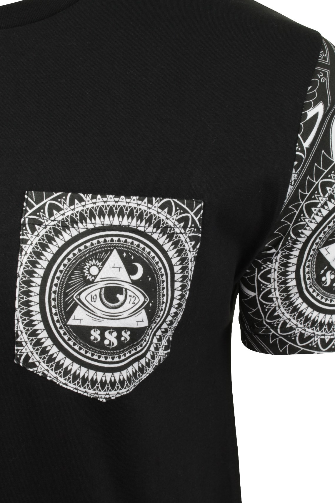 Mens-T-Shirt-by-Brave-Soul-039-Limonov-039-Short-Sleeved