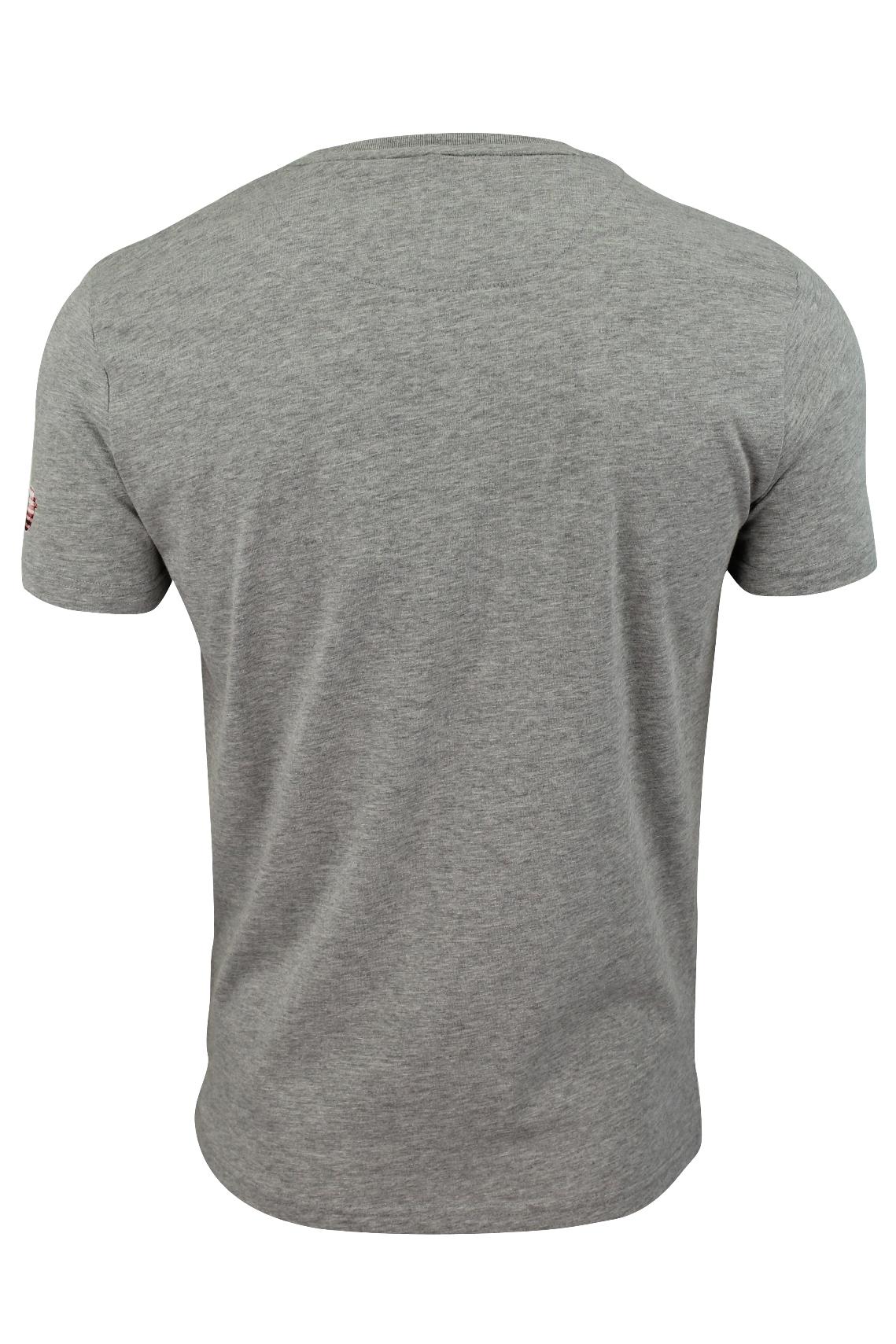 Mens T-Shirt by Brave Soul 'Marley' Short Sleeved