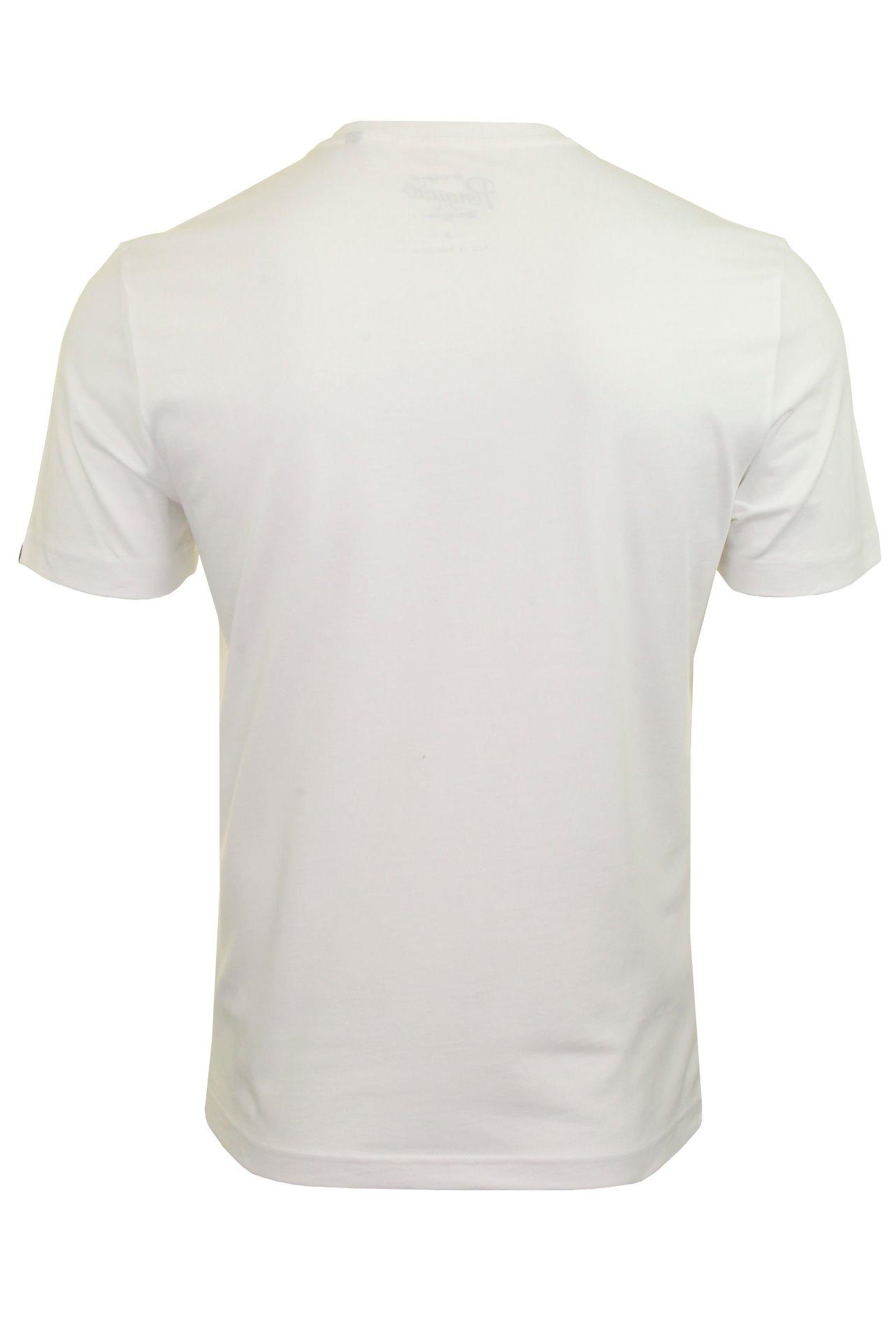 Original Penguin Mens T-Shirt /'Combo Logo/' Short Sleeved