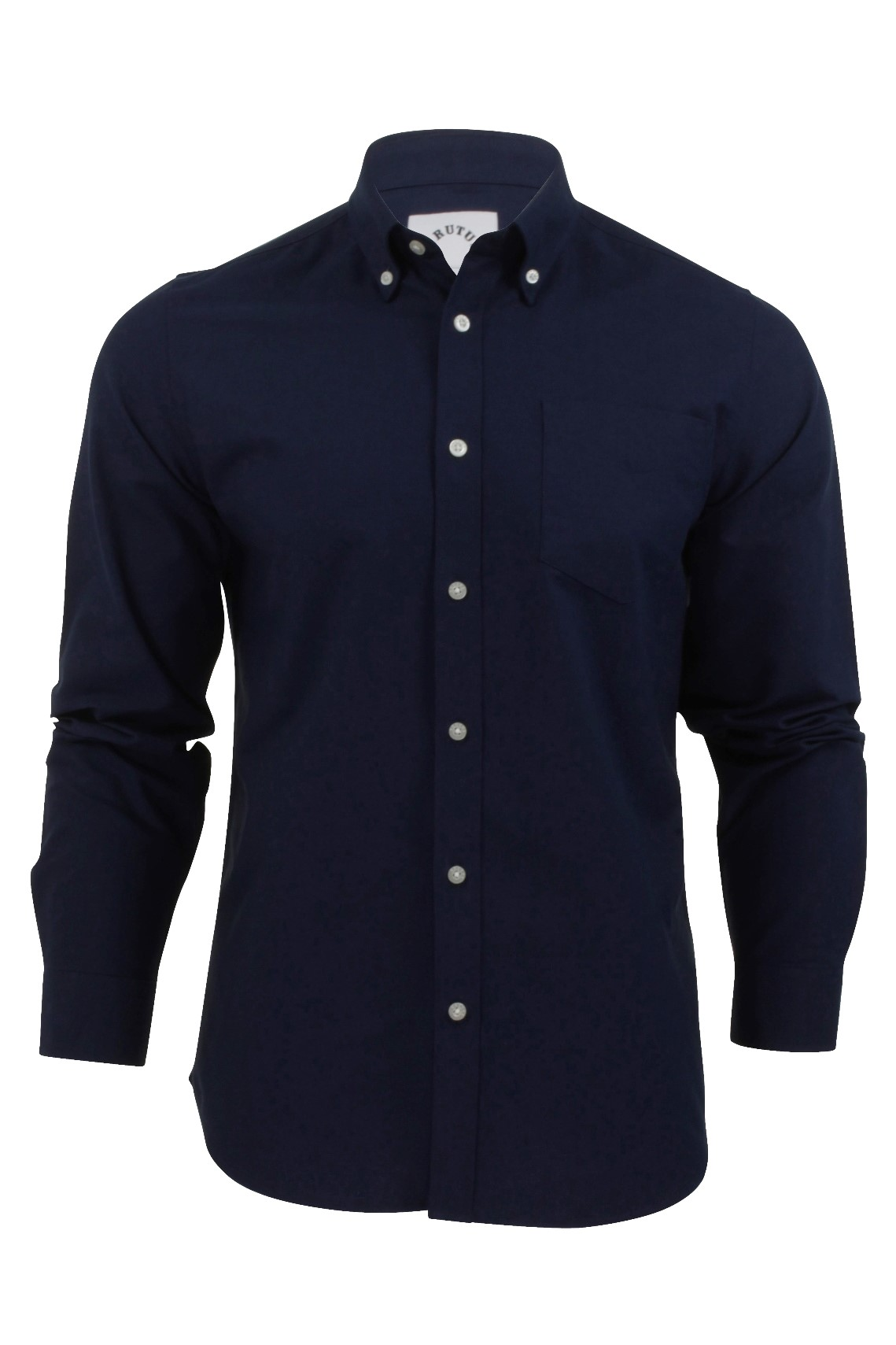 mens oxford shirt by brutus long sleeved button down