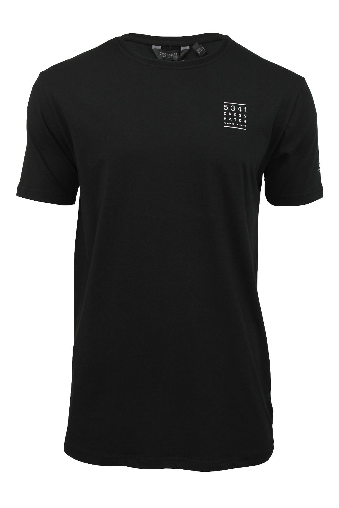 Mens long line t shirt by crosshatch 39 redemp 39 short for Long line short sleeve t shirt