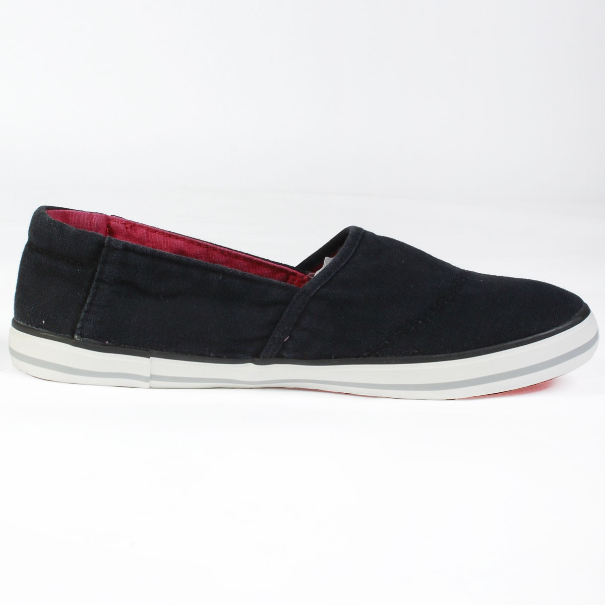 Mens-Voi-Jeans-Plimsolls-Sundance-Slip-On-Espadrilles-With-V-Logo-Shoe-Plimsole