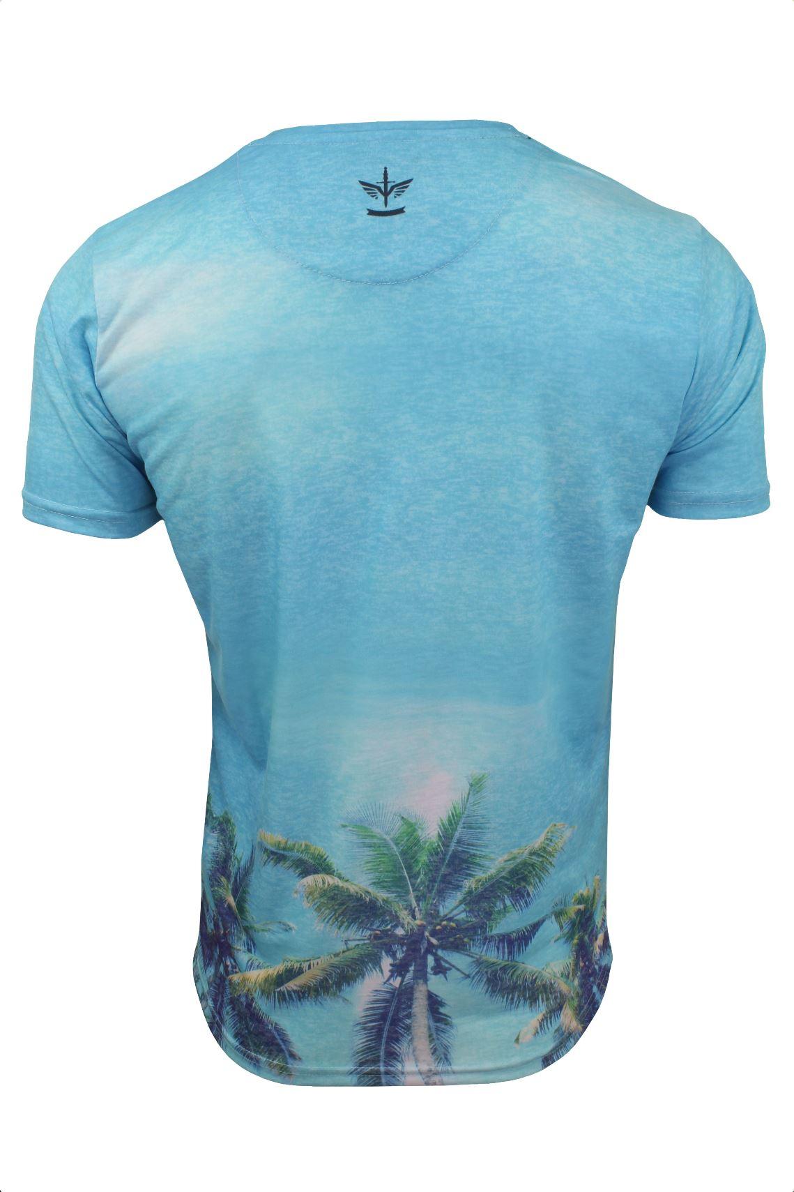 Mens T-Shirt by Firetrap /'Sunny Tee/' USA City Print