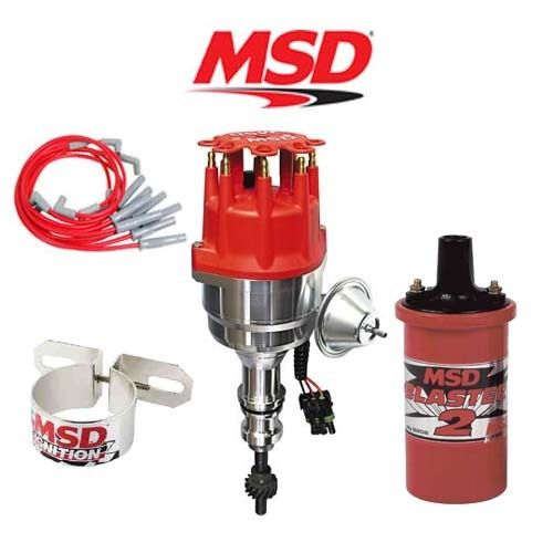 msd ignition kit ready to run distributor wires coil ford click to close full size