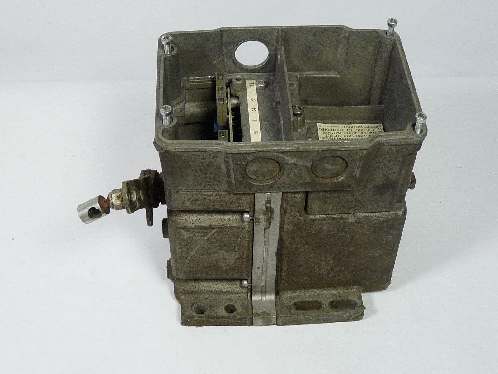 Honeywell M9814d 4009 Modutrol Actuator Motor 24vac Used