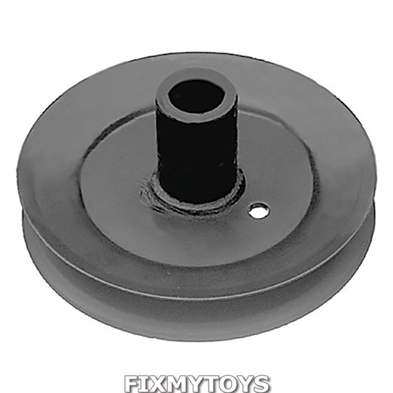 Spindle Pulley For Riding Mowers : Spindle pulley mtd series to with quot g cut
