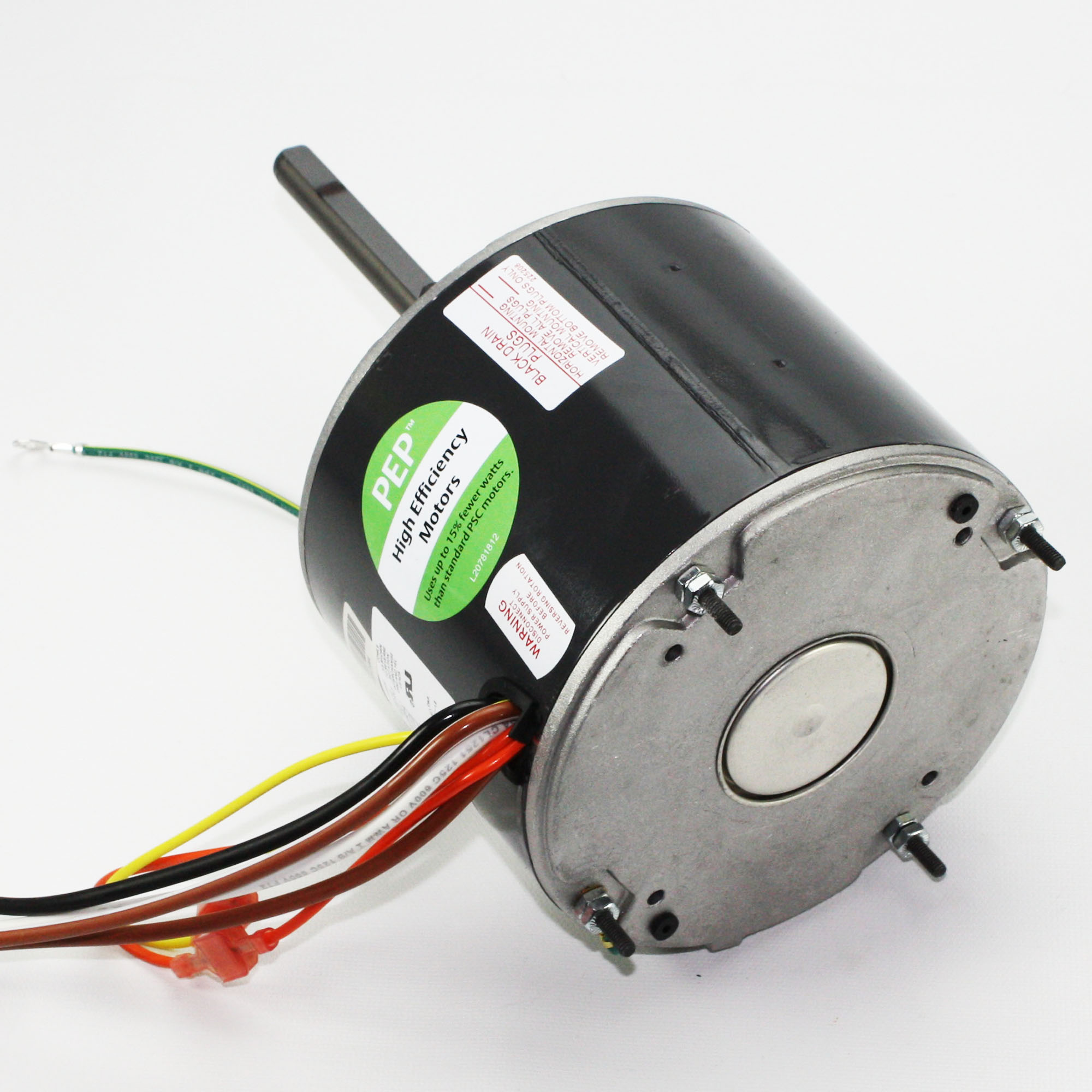 1860pep hvac he condenser fan motor 1 4 hp 208 230 1 60 for 1 4 hp furnace blower motor