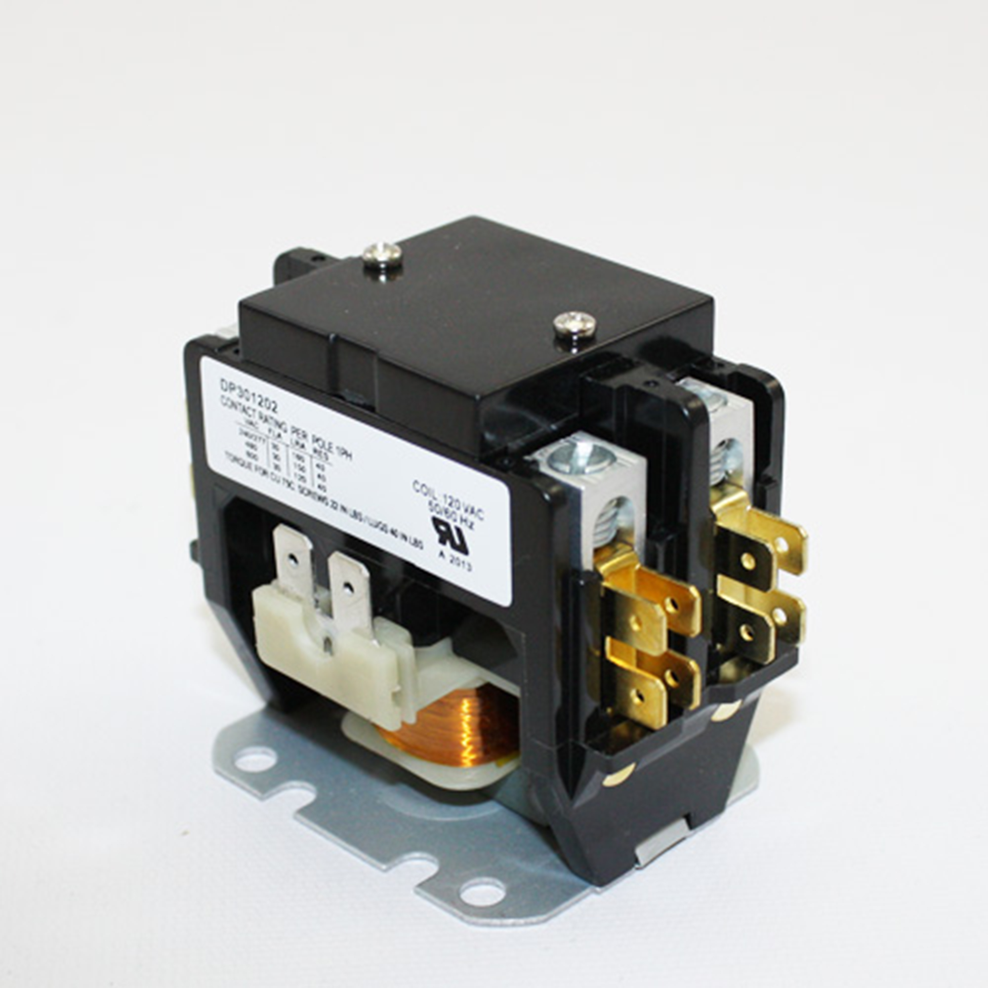 Universal air conditioner 2 pole contactor 30a 120v new for 120v window air conditioner