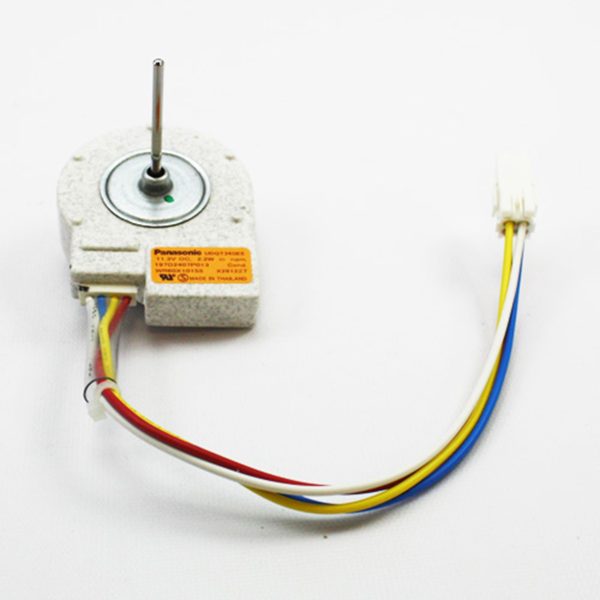 Genuine oem ge refrigerator condenser fan motor wr60x10209 for Ge refrigerator condenser fan motor not working