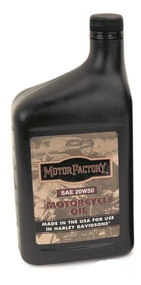 Motor factory sae 20w50 harley davidson vtwin engine oil for Sae 20 motor oil