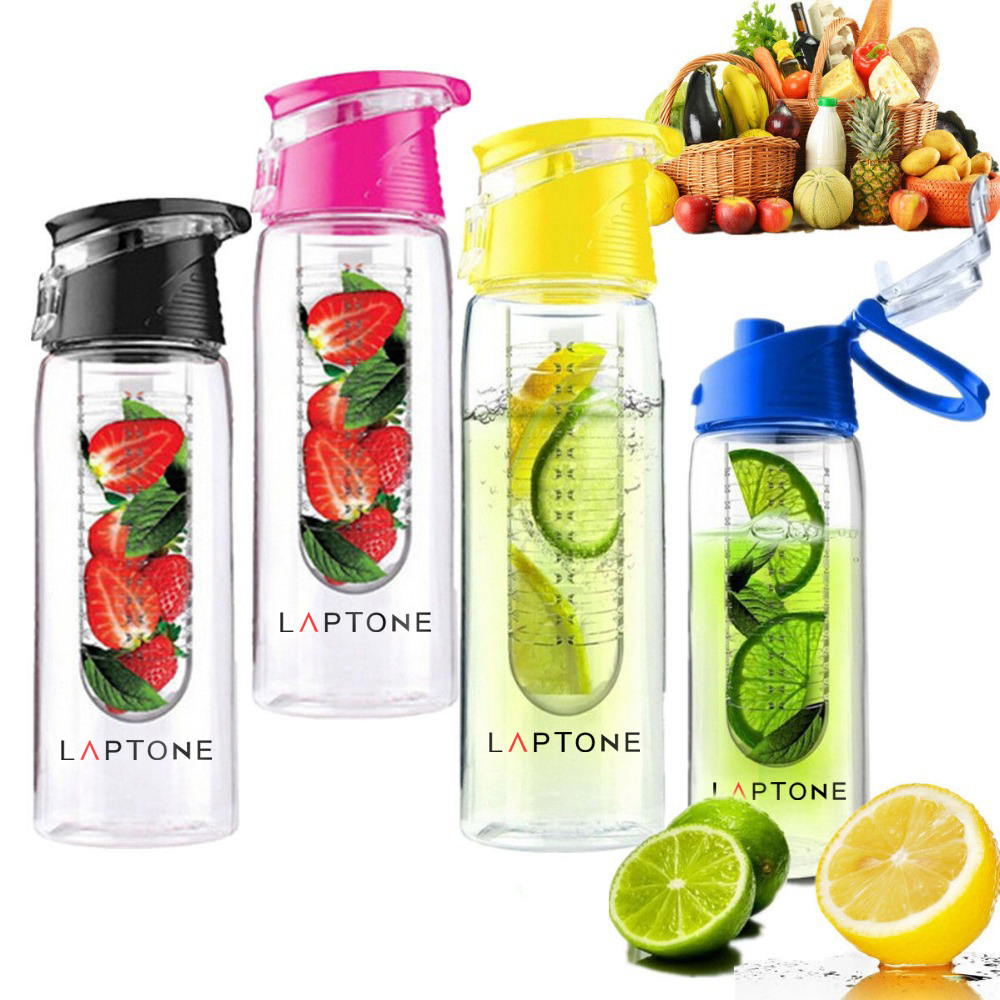 laptone 800ml infusion de fruits infuseur infusant gourde sports sant ebay. Black Bedroom Furniture Sets. Home Design Ideas
