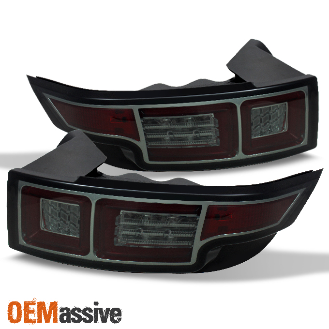 Smoked 2012 2016 Range Rover Evoque Philips Lumileds LED Tail Lights 2013 201