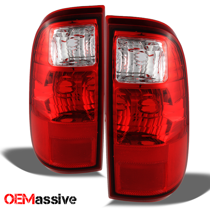 08 16 ford f250 f350 f450 superduty red tail lights lamps. Black Bedroom Furniture Sets. Home Design Ideas