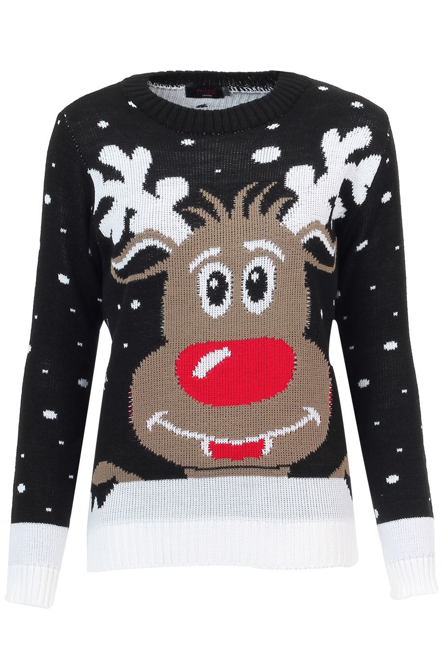 Ladies-Womens-Vintage-Retro-Sweater-Novelty-Knitted-Winter-Christmas-Jumper-Tops