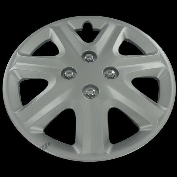honda civic center hub caps full wheel rim cover replacement set   ebay