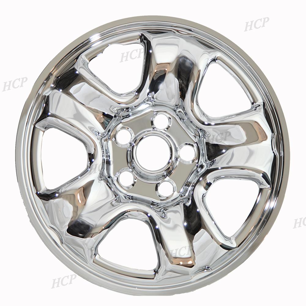 """For 2012-15 Honda CRV FOUR 16"""" Chrome Wheelskins Hubcap ..."""