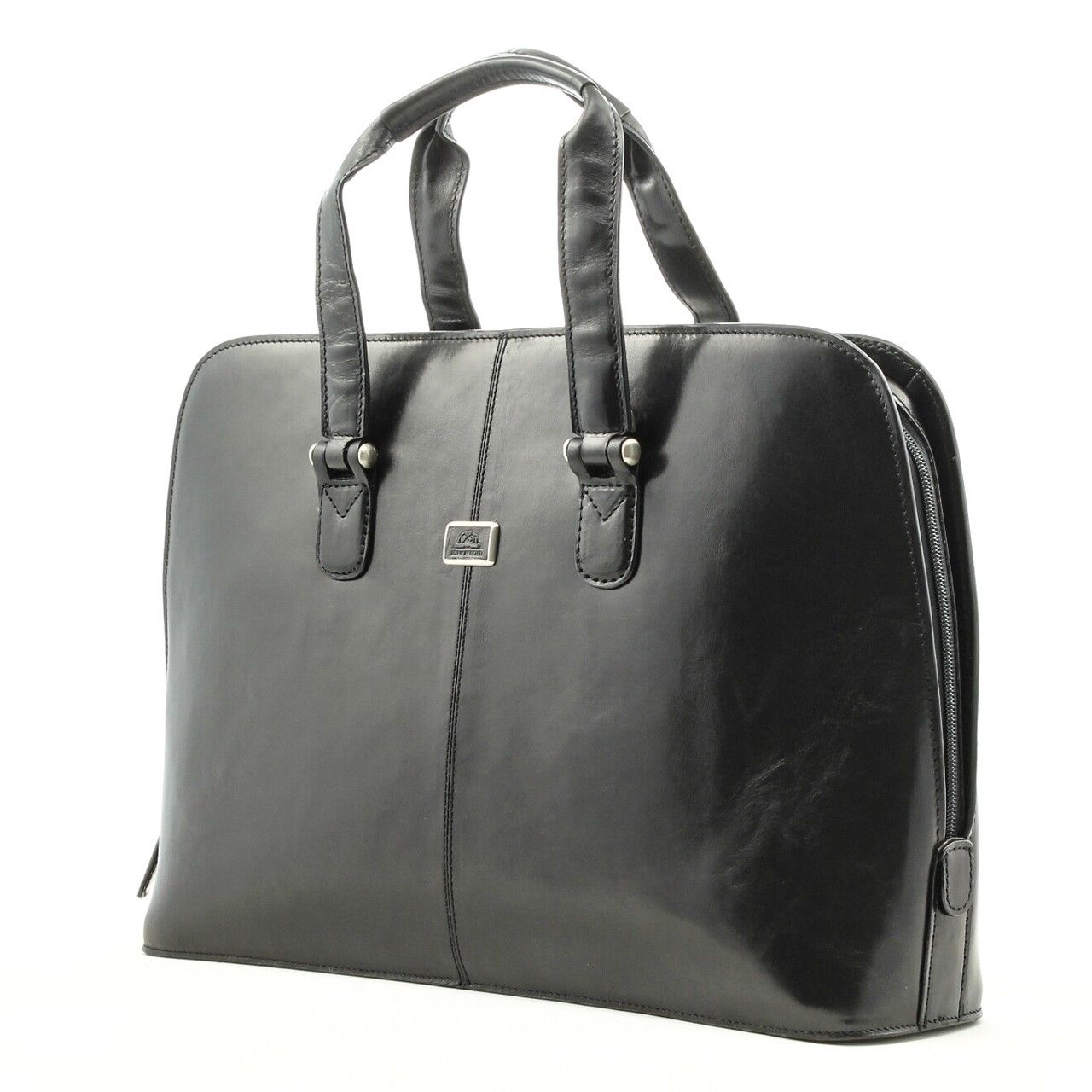 Model Claire Chase Women39s 15quot Leather Laptop Bag