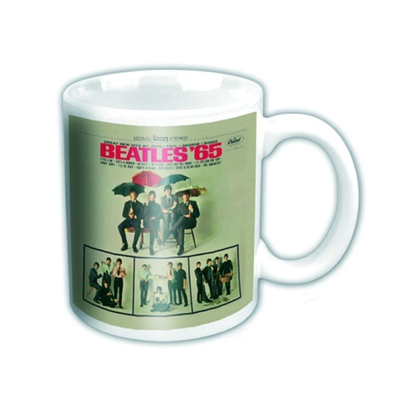 The Beatles Mug Abbey Road Help Rubber Soul Official Boxed