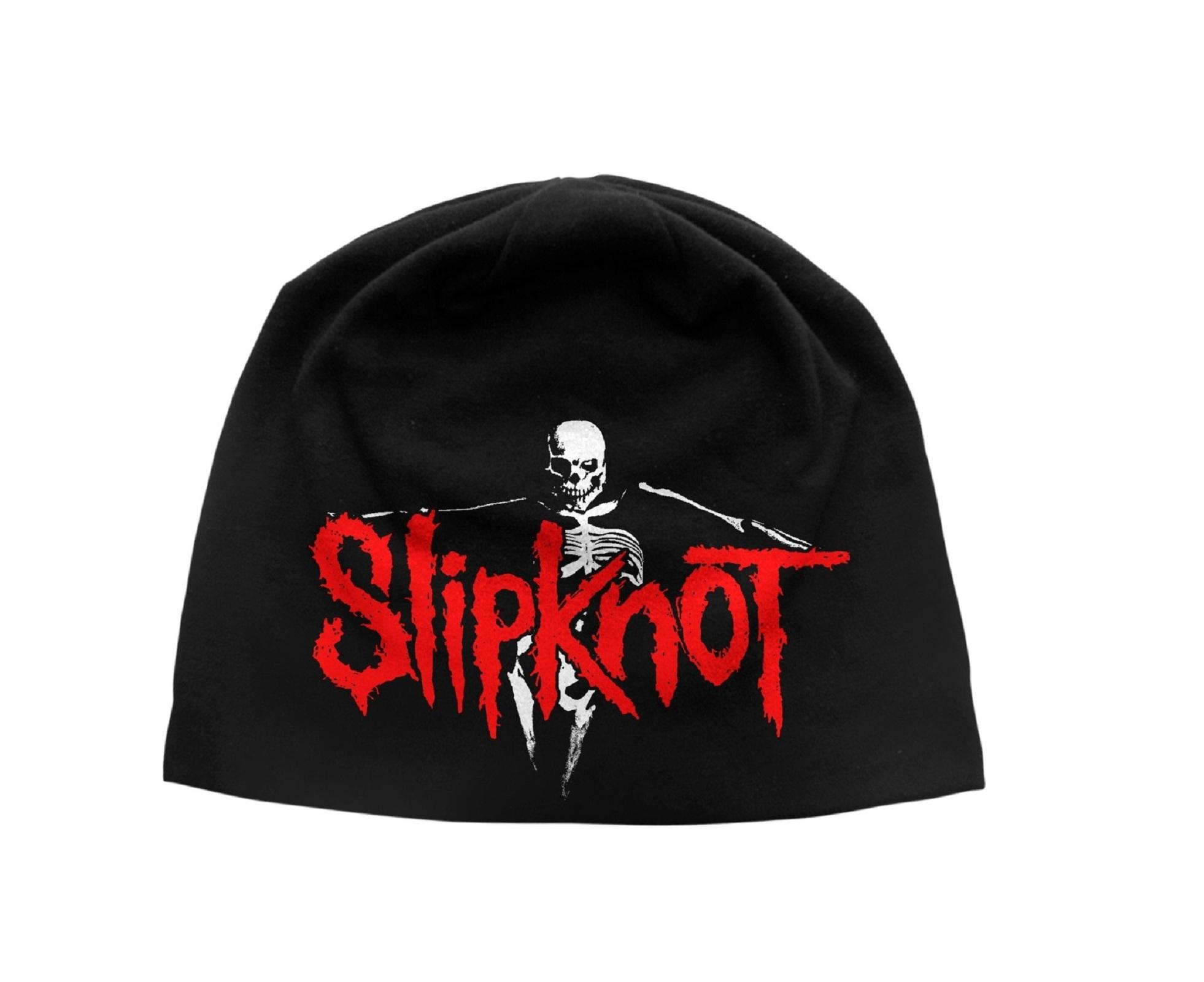 Slipknot-The-Gray-Chapter-band-logo-officiel-nouveau-Noir-jersey-Bonnet-One-Size