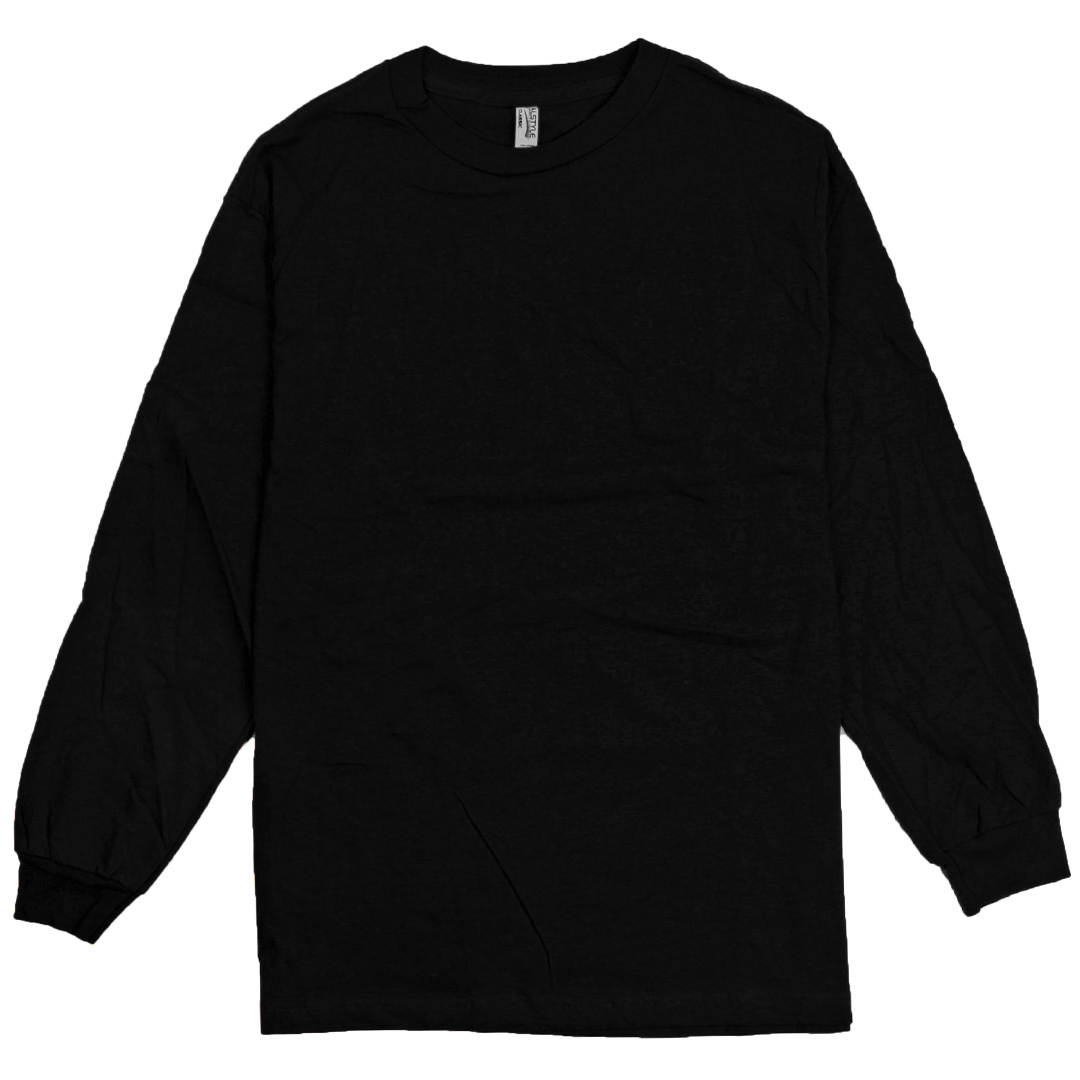 alstyle apparel aaa plain blank men 39 s long sleeve t shirt