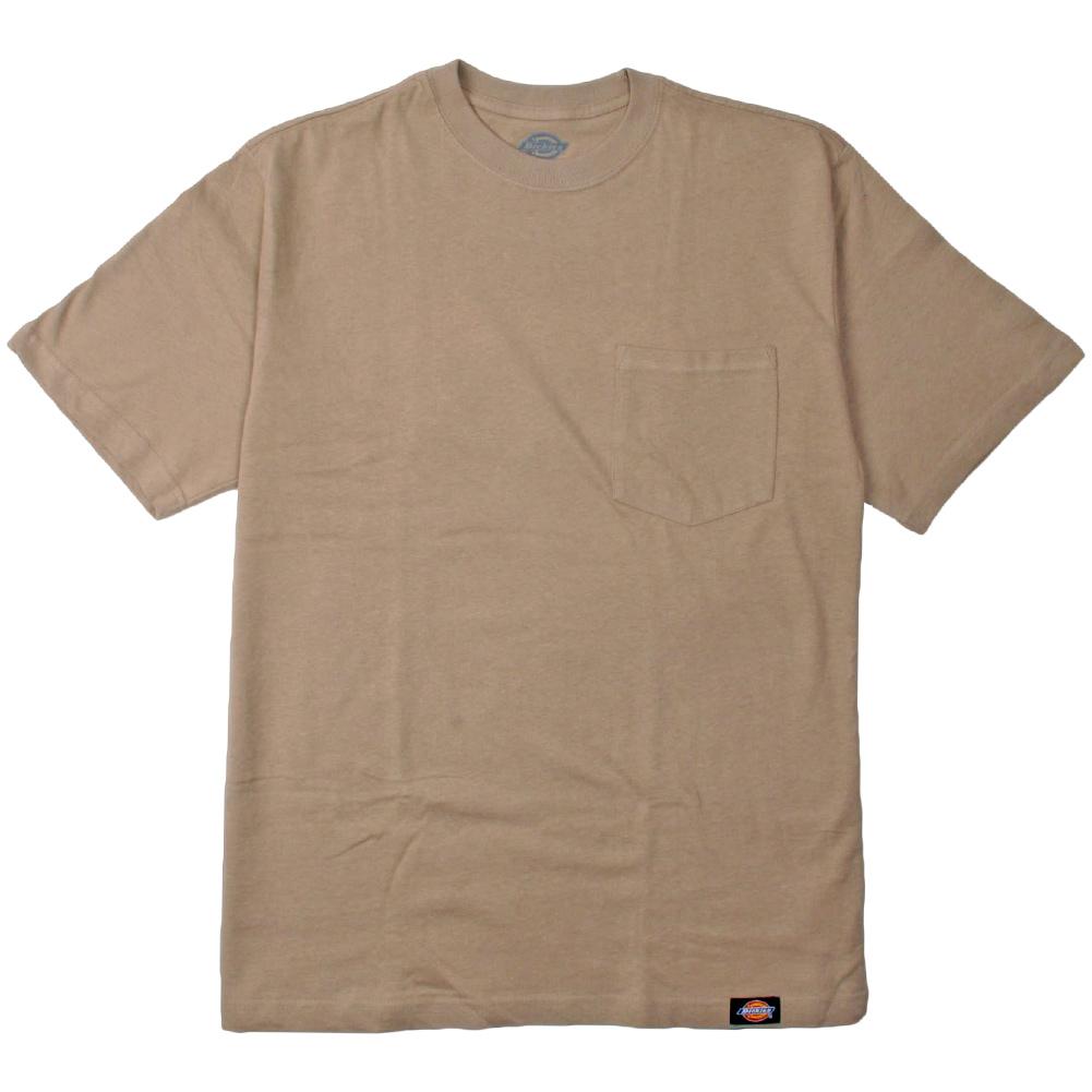 Dickies men 39 s shortsleeve pocket tee crewneck t shirt 2 for Boys pocket t shirt