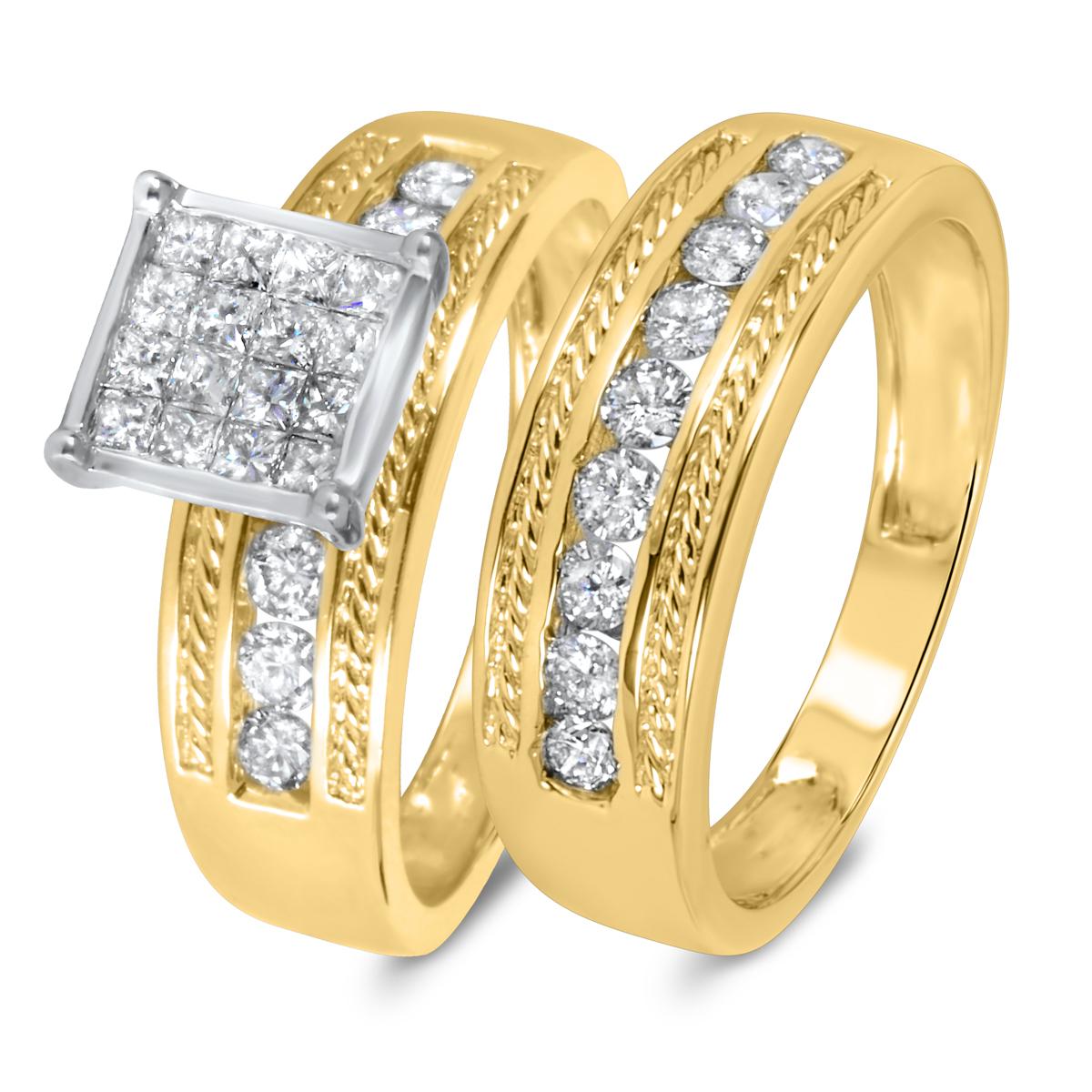 1 1/10 CT. T.W. Diamond Women