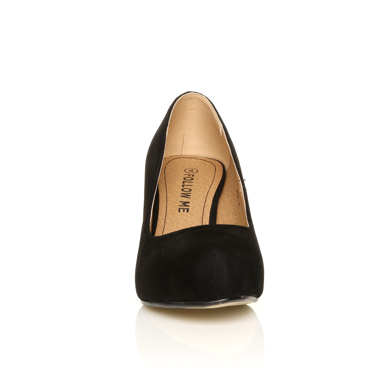 glitter womens low mid heel pumps concealed