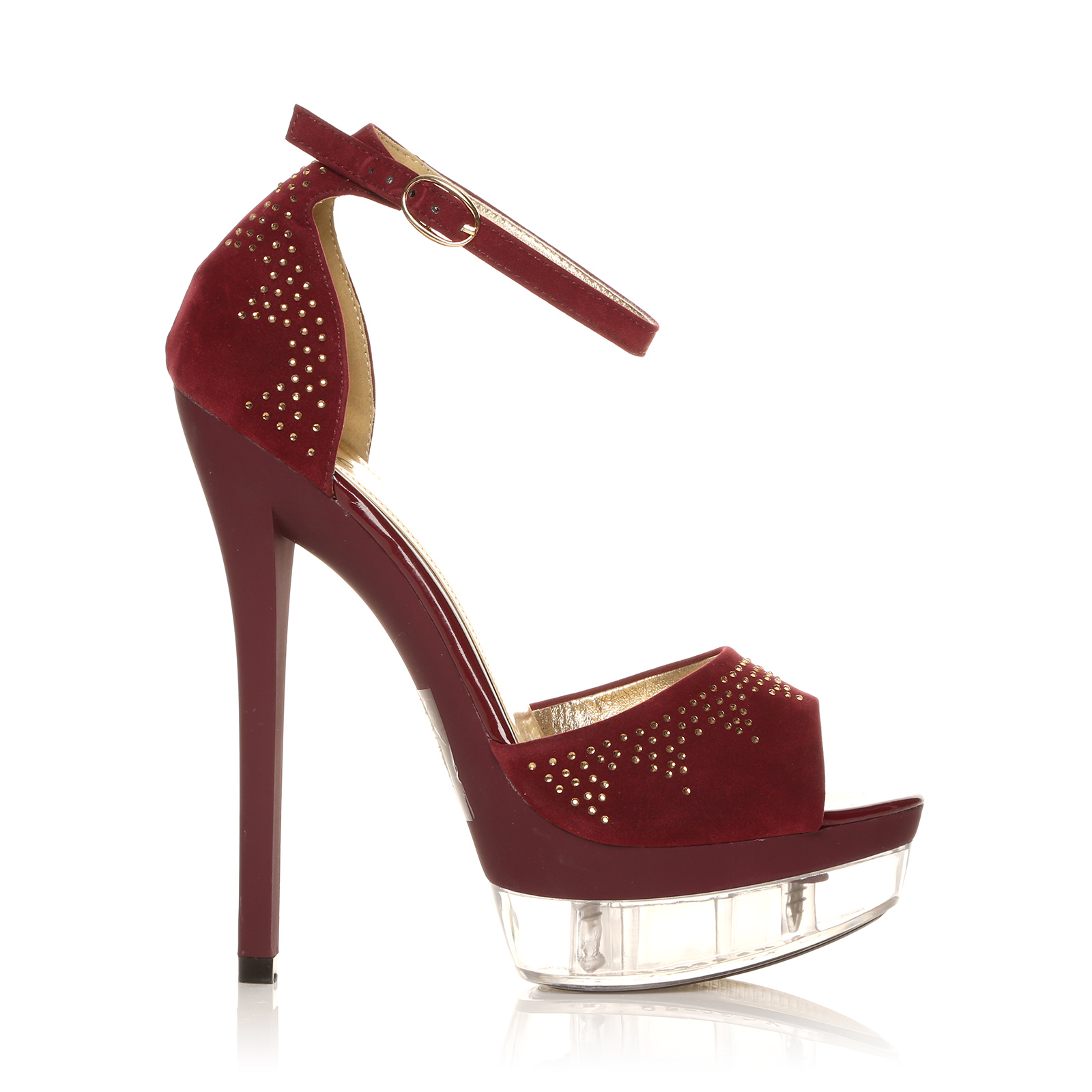 Women ladies peep toes platform hot high heels ankle strap for Onorevoli donne