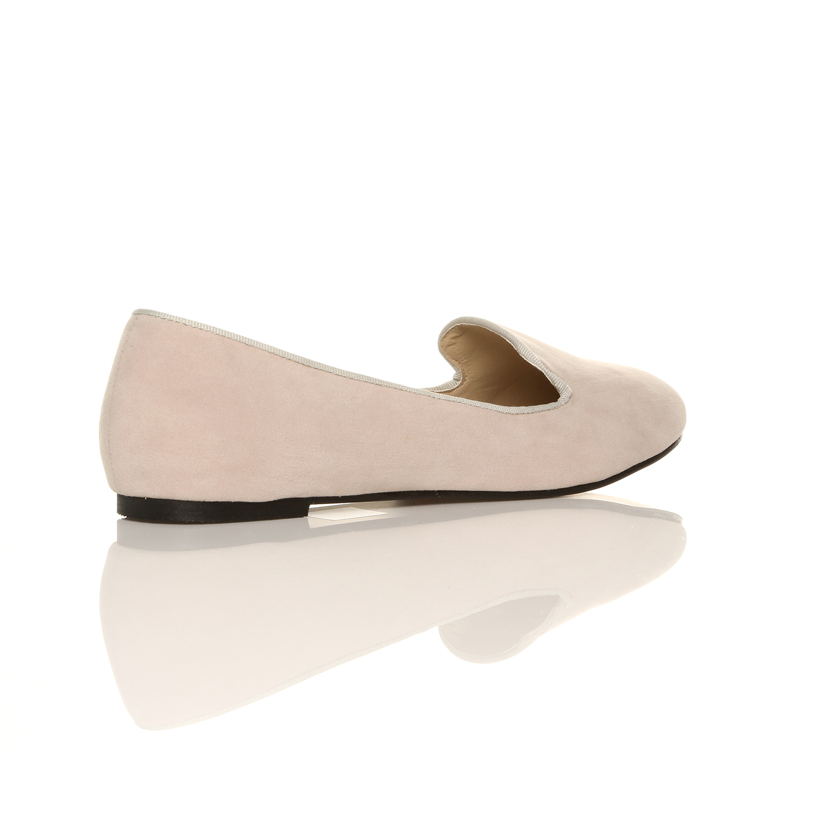 NEW-SLIP-ON-CASUAL-FLAT-SHOES-LADIES-GIRLS-FAUX-SUEDE-BALLERINAS-SIZE-3-8