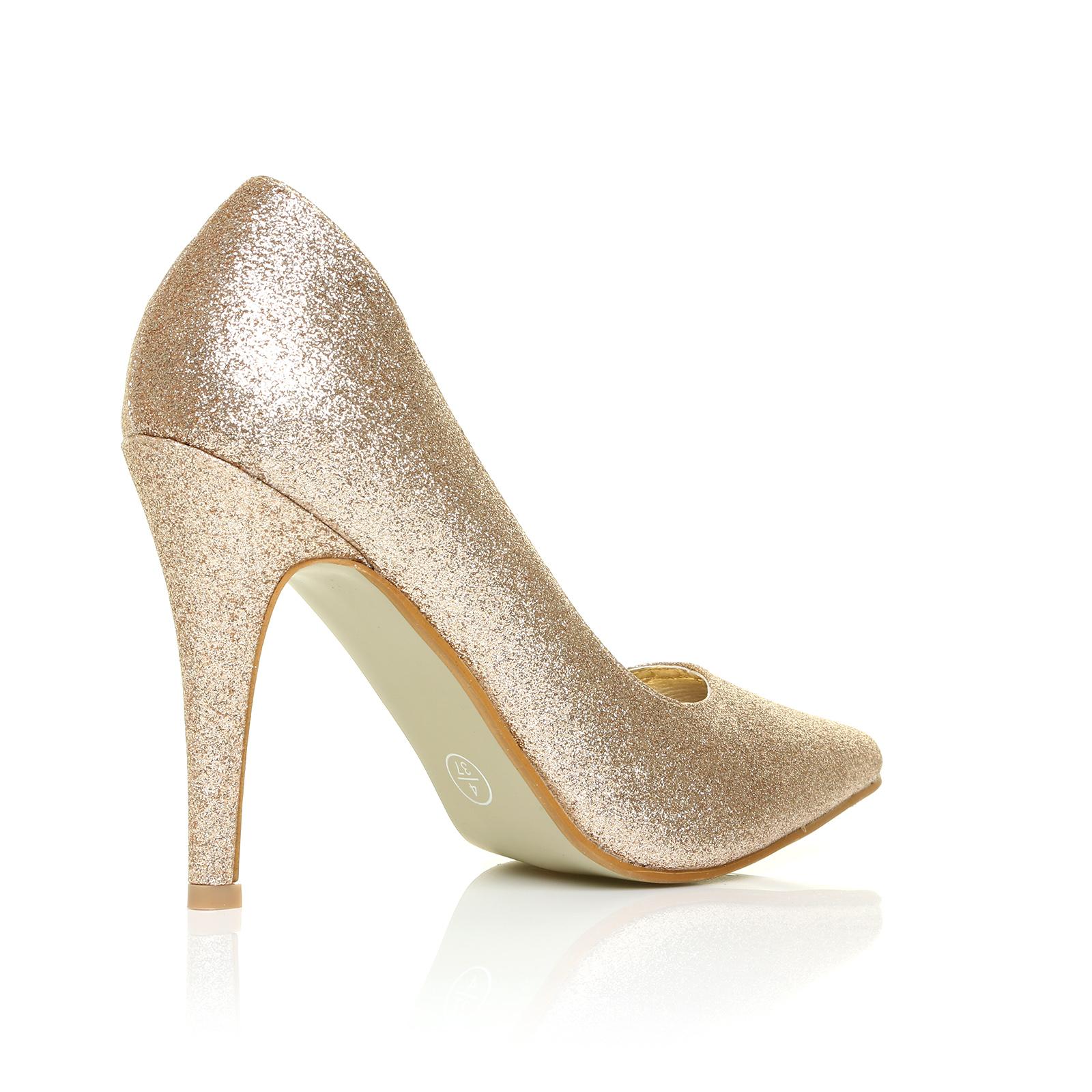 bottines femme talon haut bride cheville bout pointu cour chaussures femmes hi fashion escarpins. Black Bedroom Furniture Sets. Home Design Ideas