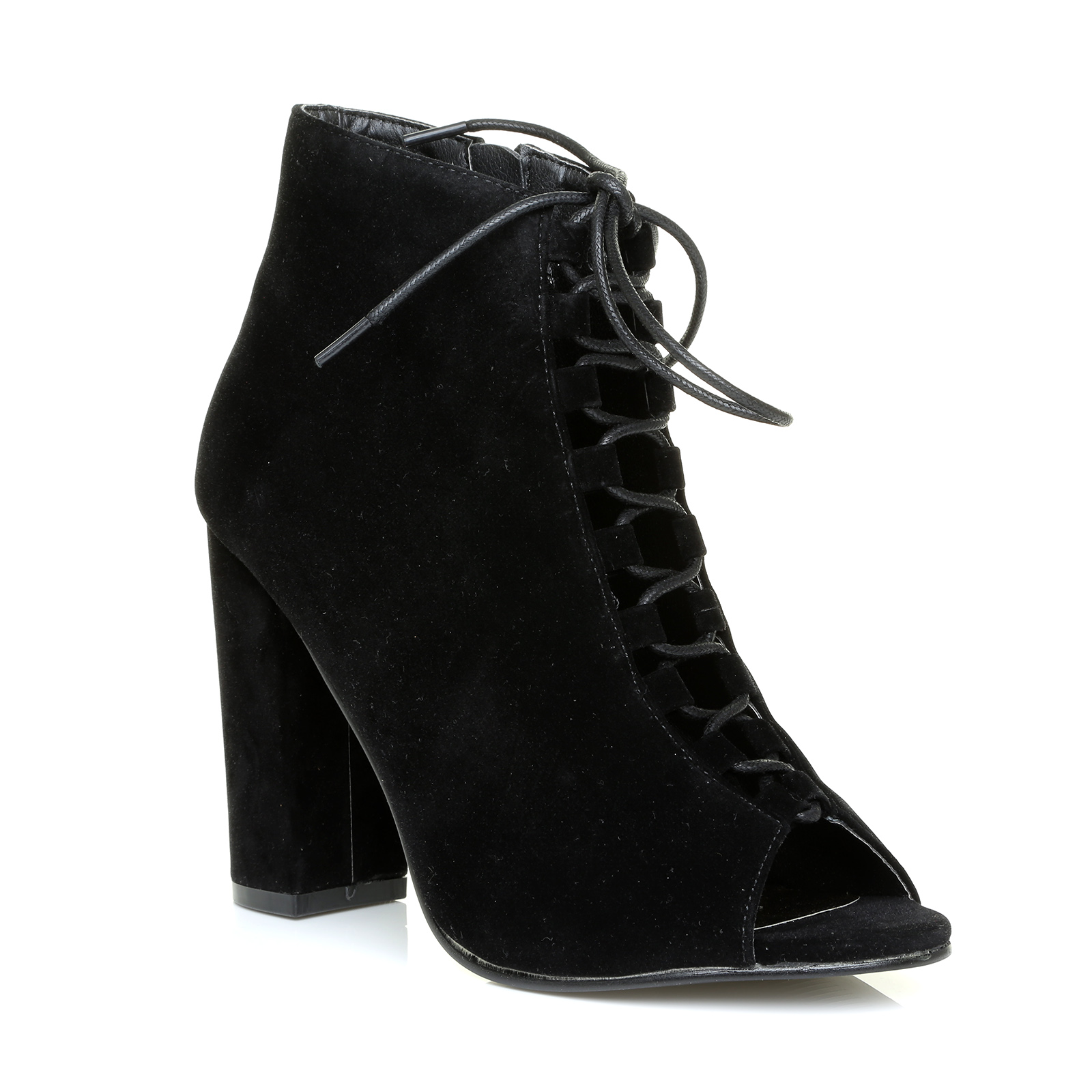 Women S Sued Grey Lace Up Shoes