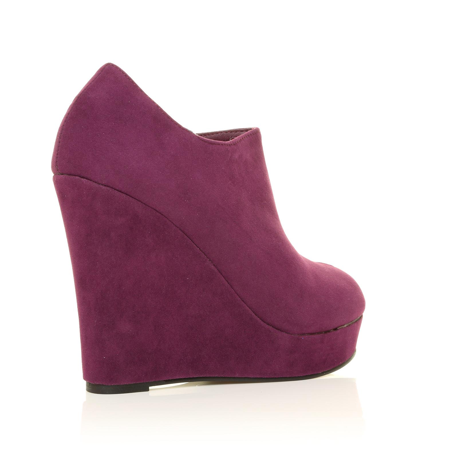 wedges womens toe high heel platform shoes