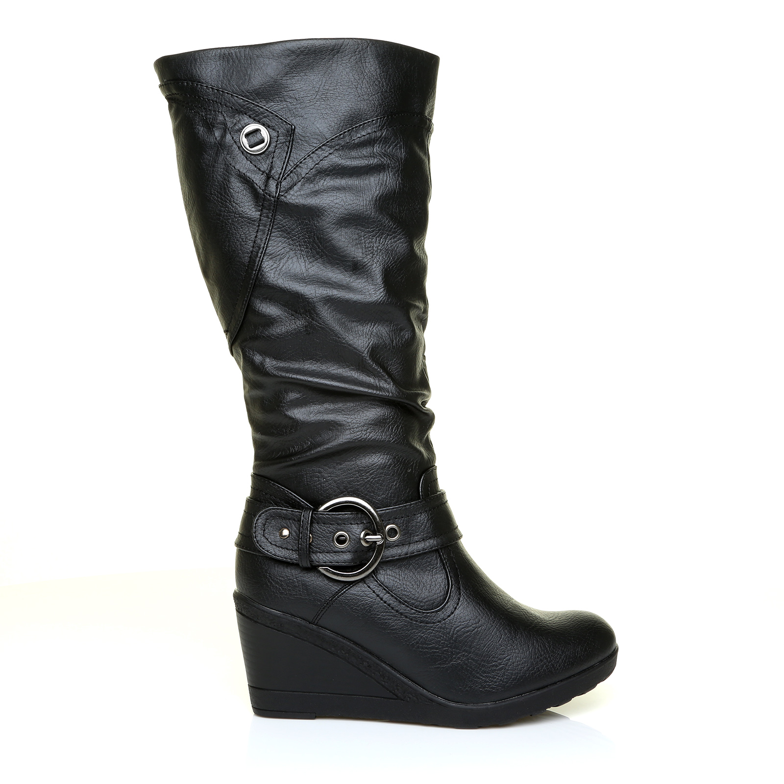 Original Home  Womens Footwear  Boots  Moda In Pelle Mid Length Boots