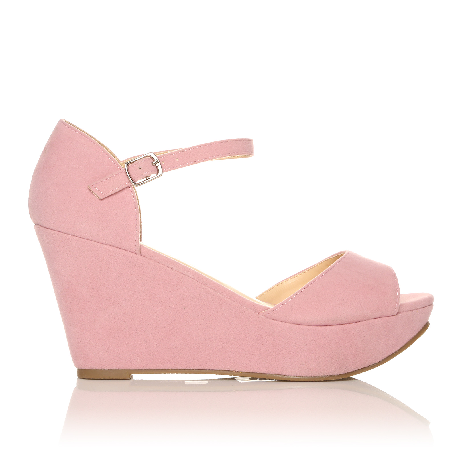high wedge sandals ankle shoes new
