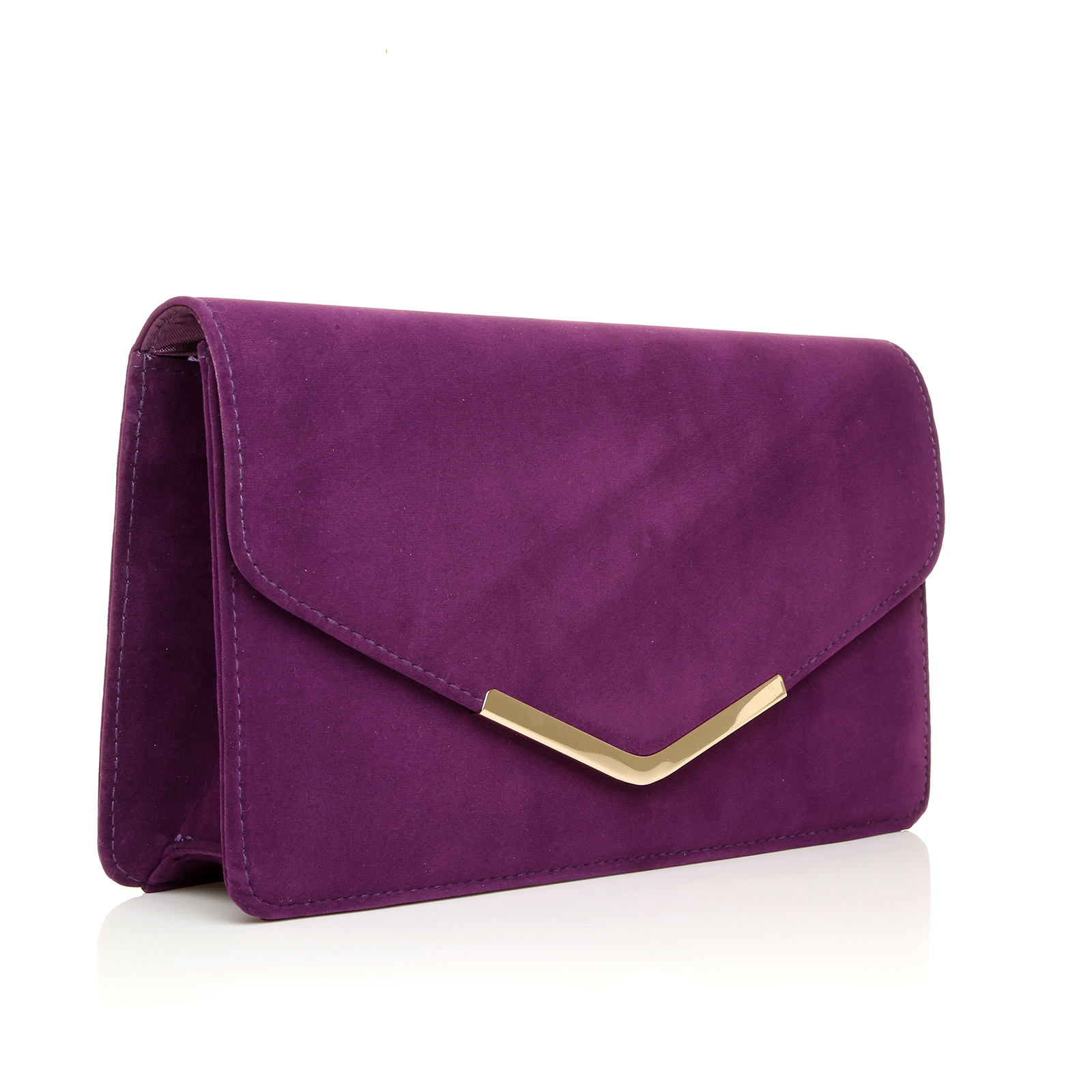 New Ladies Large Faux Leather Envelope Evening Clutch Bag ...