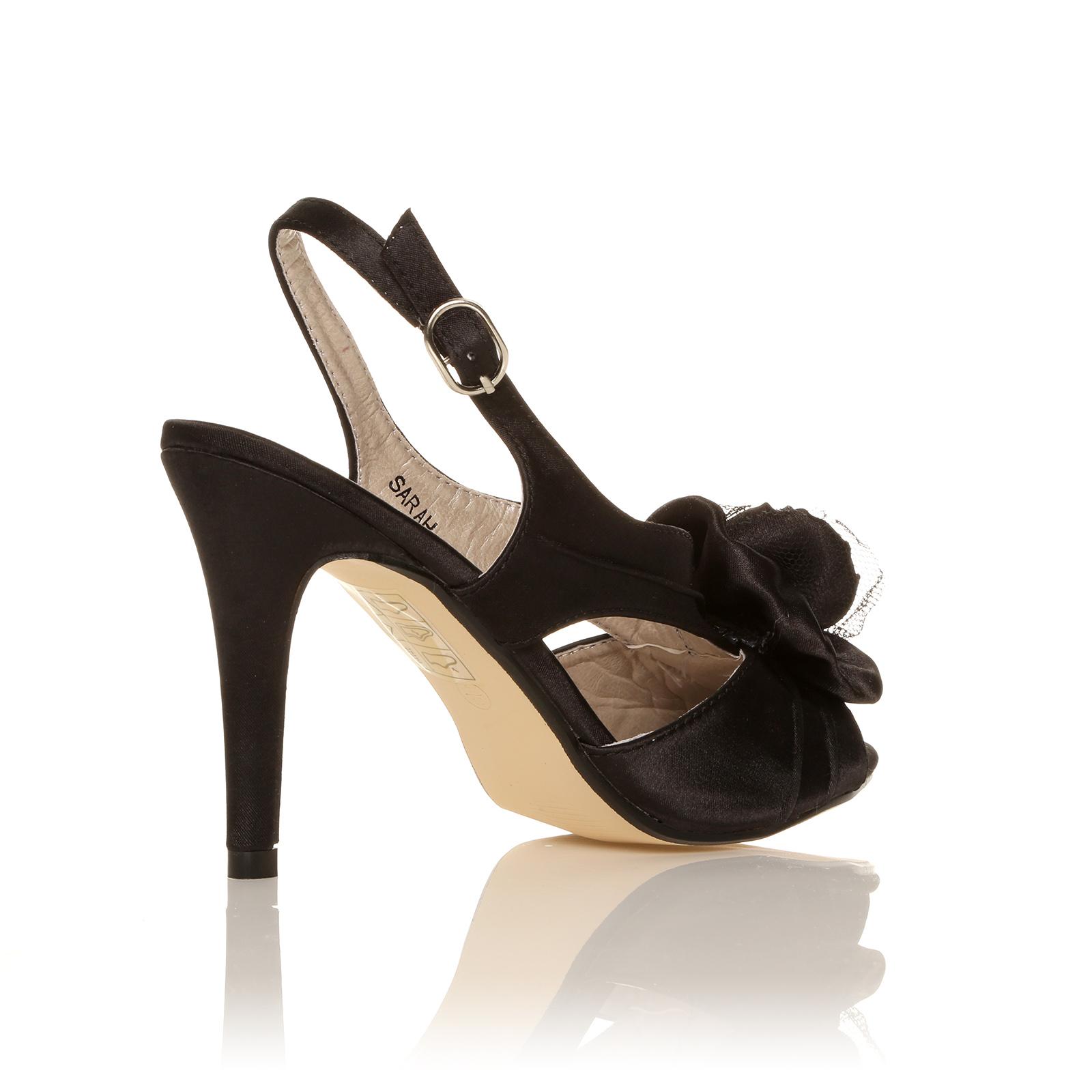 womens mid high heel sandals new wedding prom