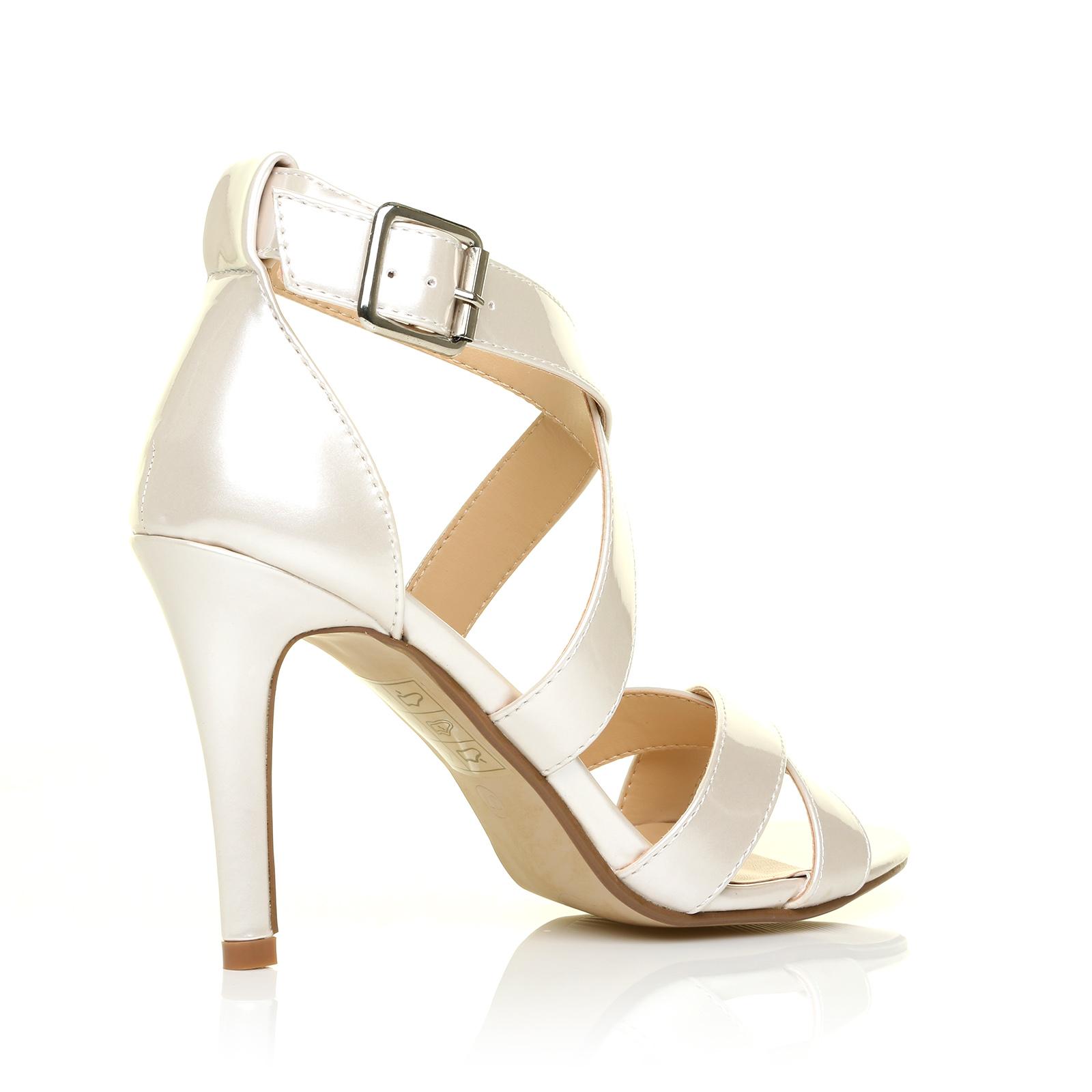 womens peep toe stiletto heels high heel strappy