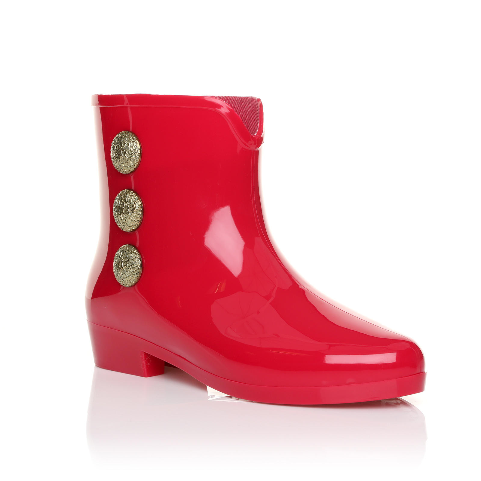 Womens ankle garden jelly wellie wellington rain ladies for Garden boots for women
