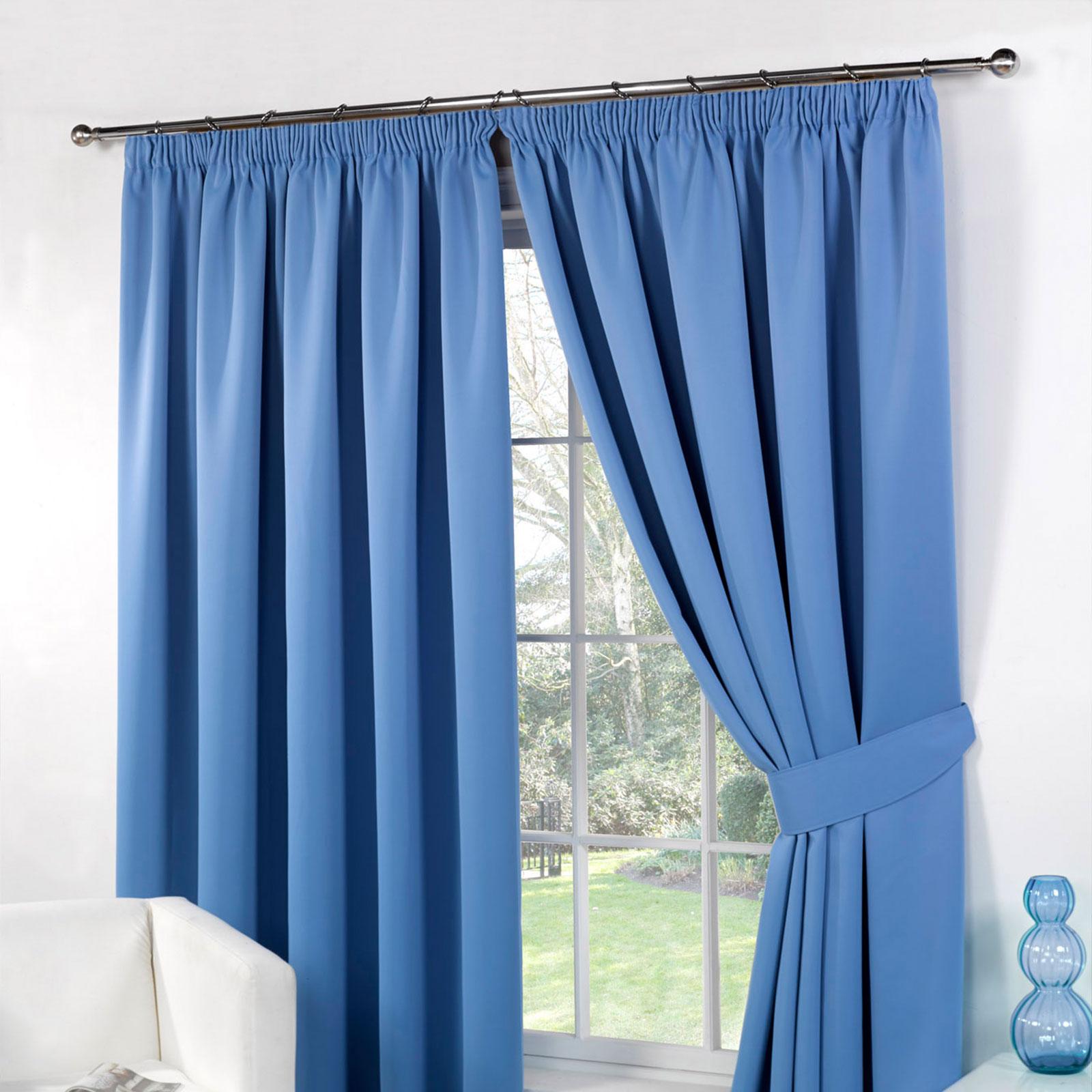 Blackout curtain pair