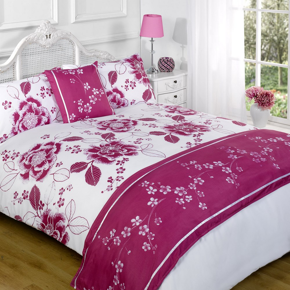 Duvet Cover With Pillow Case Quilt Bedding Set Bed In A
