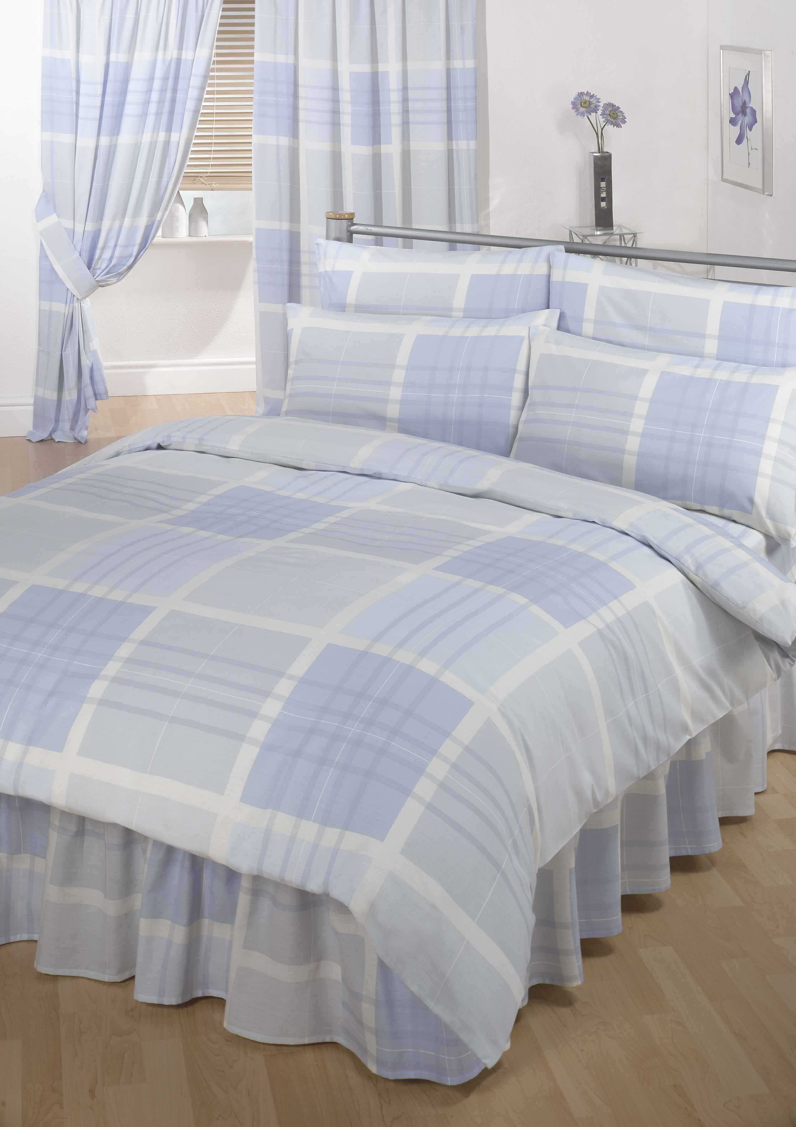 Bumper Duvet Complete Bedding Set With Matching Curtains Henley King Ebay